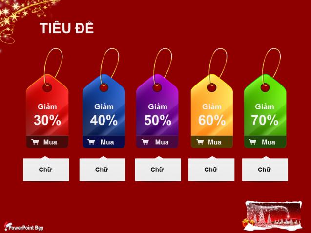 Slide PowerPoint đẹp nhân dịp mùa Giáng Sinh (Merry Christmas 2013)