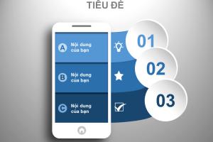 Iphone đẹp mắt trên slide PowerPoint chuyên nghiệp